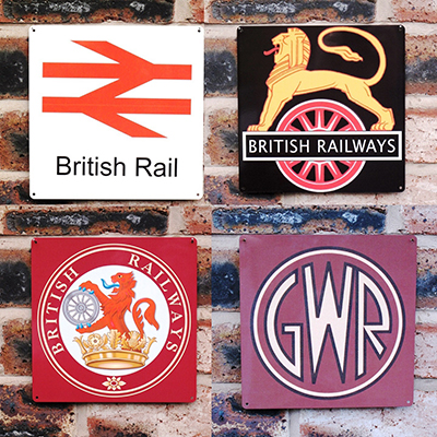 Loco Fleet Shop Railway Signs 20x20