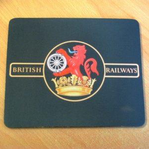 BR Lion & Crown Mouse Mat