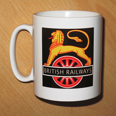 British Railways Mug | Black