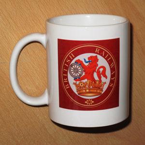 British Railways Mug | Red