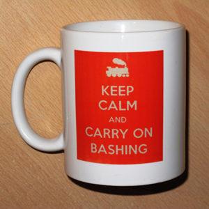 Carry On Bashing Mug