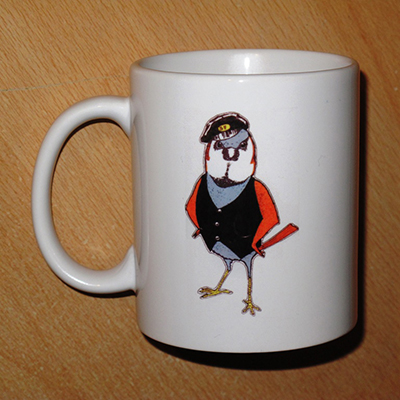 Cockney Sparrow Mug
