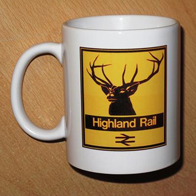 Loco Fleet Shop Highland Rail Mug