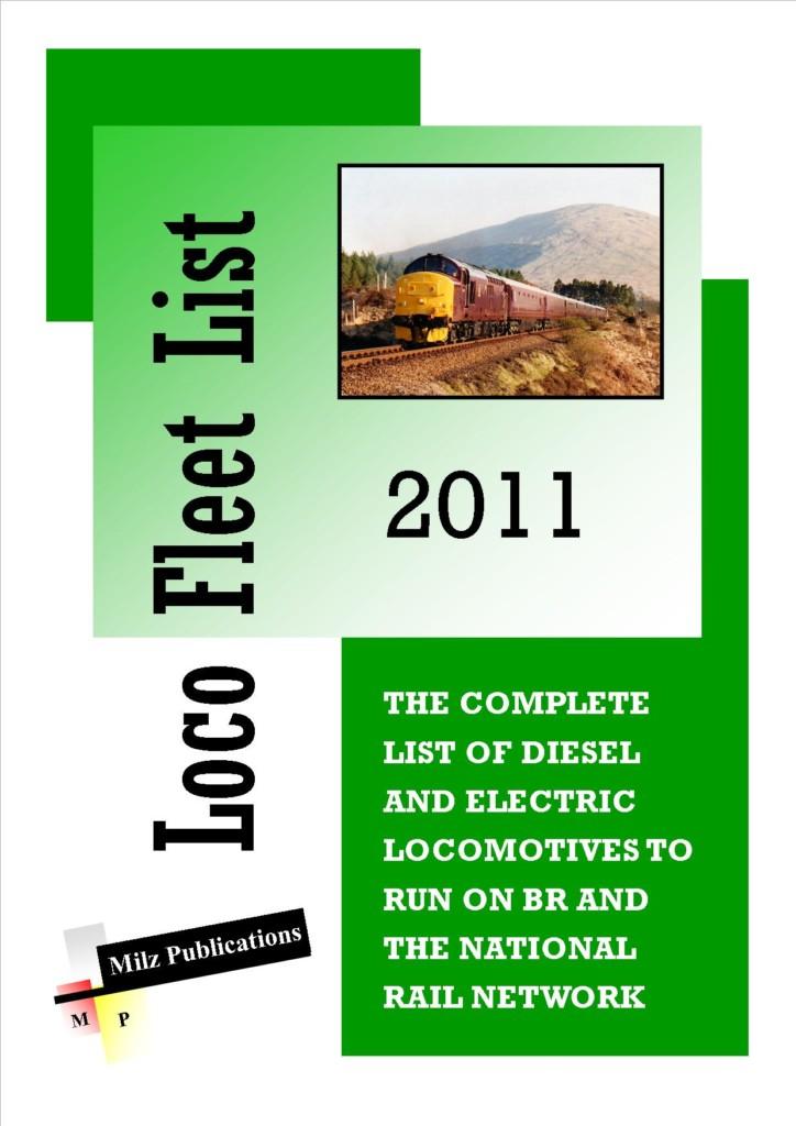 Loco Fleet List 2011