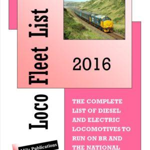 Loco Fleet List 2016