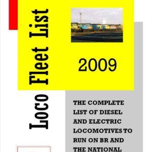 Loco Fleet List 2009