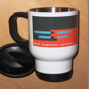 Rail Express Systems Travel Mug