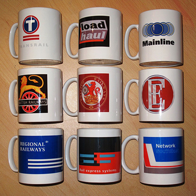 Loco Fleet Shop Railways Mugs