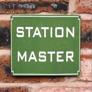 Station Master   20x15cm