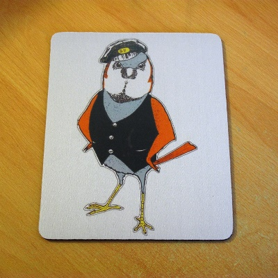 Stratford Cockney Sparrow Mouse Mat