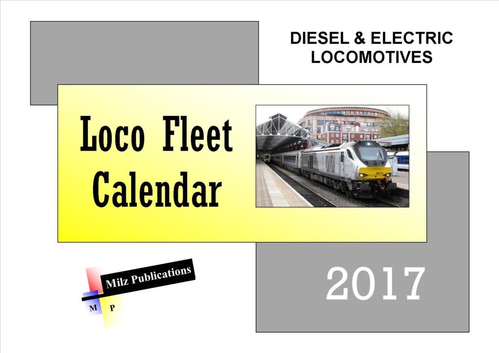 Loco Fleet Calendar 2017