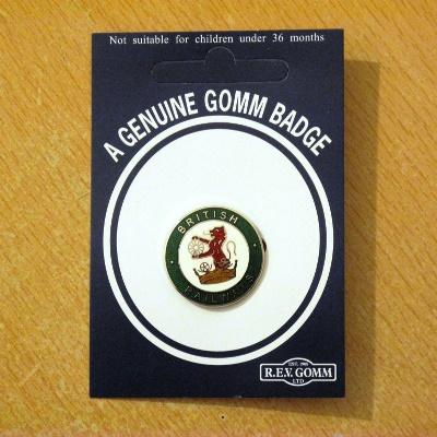British Rail Lion & Crown Badge