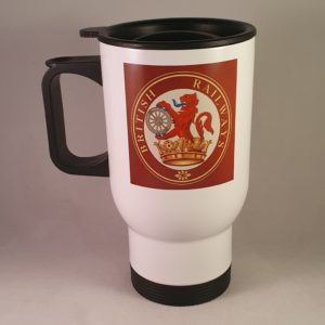 British Railways Ferret & Dartboard Travel Mug