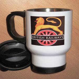 British Railways Travel Mug   Black