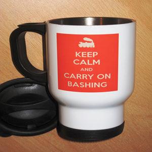 Carry On Bashing Travel Mug