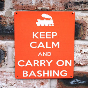 Carry On Bashing | 20x15cm
