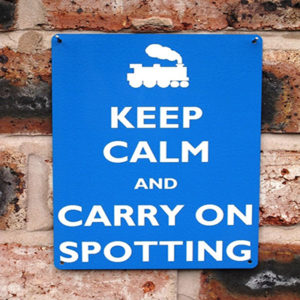 Carry On Spotting | 20x15cm