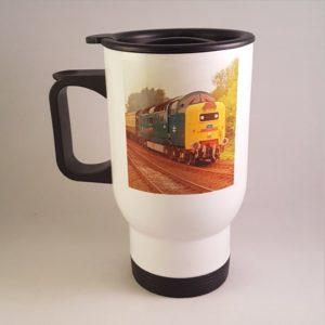 Class 55 Deltic Travel Mug