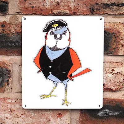 Loco Fleet Shop Cockney Sparrow 20x15
