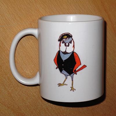 Loco Fleet Shop Cockney Sparrow Mug