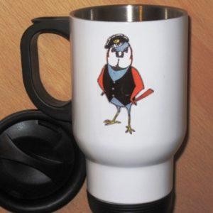 Cockney Sparrow Travel Mug