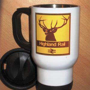 Highland Rail Travel Mug