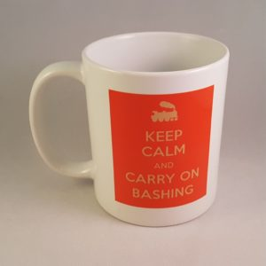 Carry On Bashing Mug