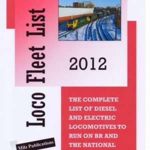 Loco Fleet List 2012