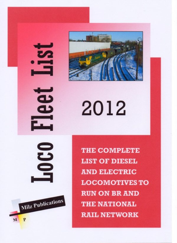 Loco Fleet List Cover 2012