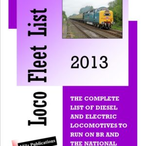 Loco Fleet List 2013