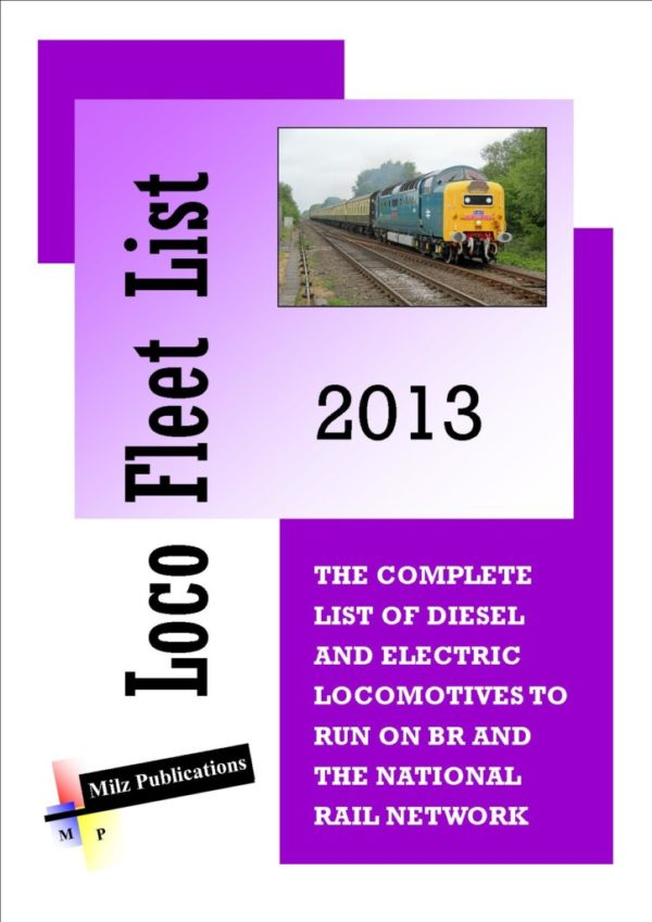 Loco Fleet List Cover 2013