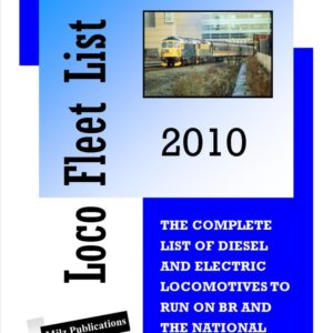 Loco Fleet List 2010