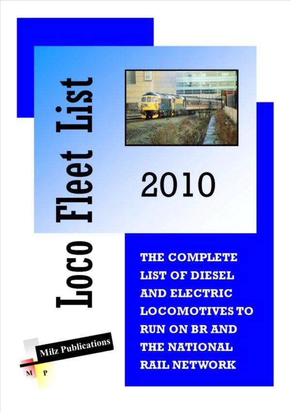 Loco Fleet List Cover 2010