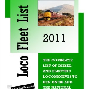 Loco Fleet List 2011
