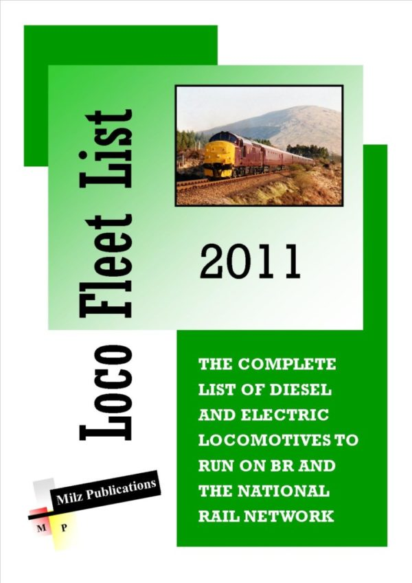 Loco Fleet List Cover 2011