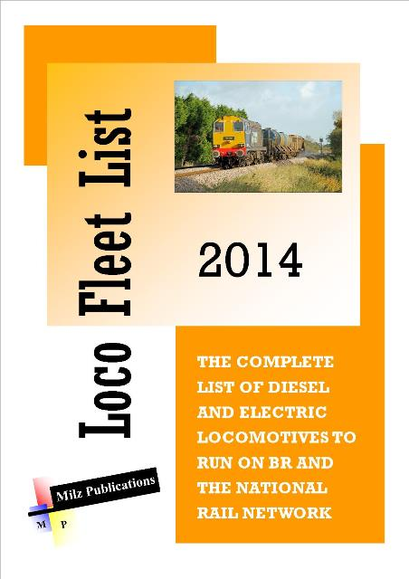 Loco Fleet List Cover 2014
