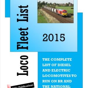 Loco Fleet List 2015