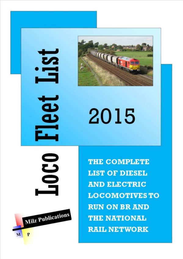 Loco Fleet List Cover 2015