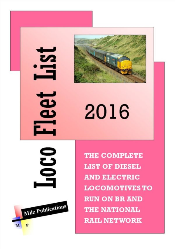 Loco Fleet List 2016 Cover