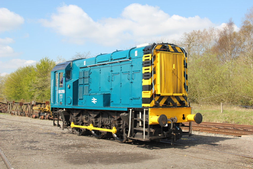 08359 Between Duties At Brownhills West (Chasewater Railway), 06 04 2019 (Lee Miller)