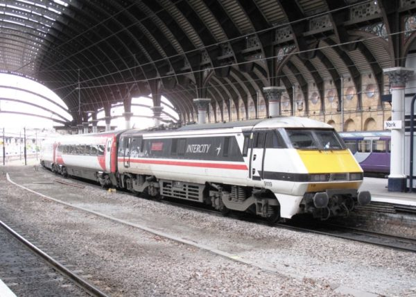 91119 Arriving Into York With An LNER Service To London Kings Cross, 02 03 2019 (Lee Miller)