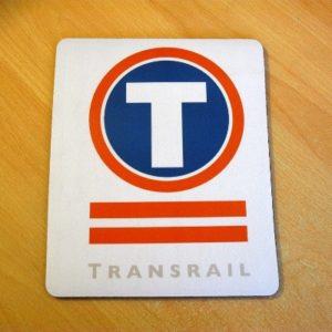Transrail Freight Mouse Mat