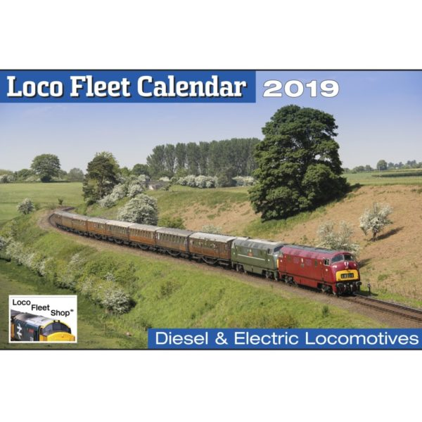 Loco Fleet 2019 Calendar Cover2
