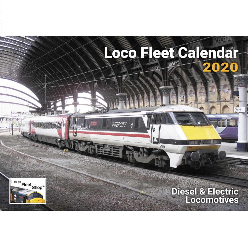 Loco Fleet 2020 Calendar Cover