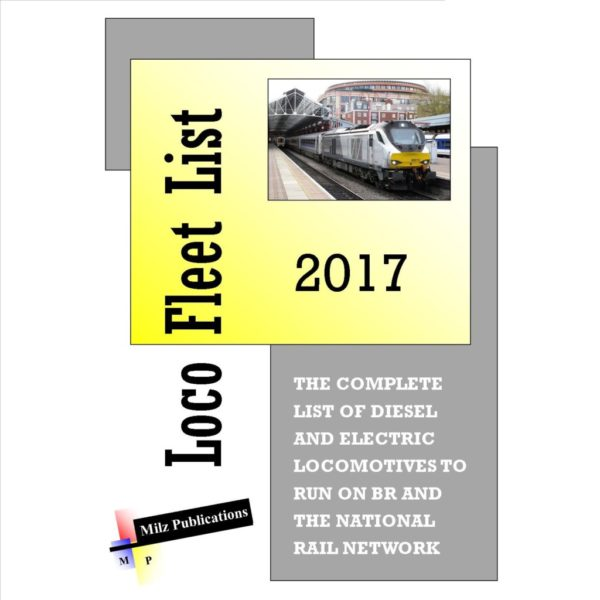 Loco Fleet List 2017 Cover