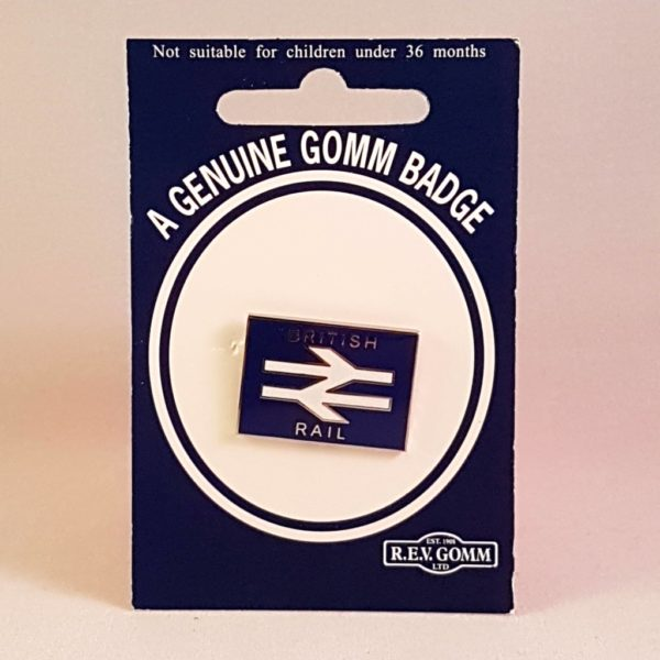 British Rail Arrow Blue Badge