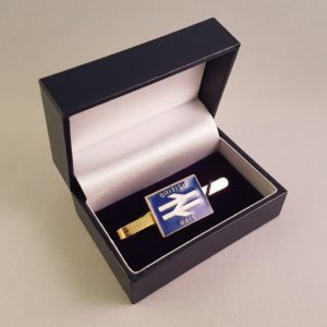 British Rail Blue Tie Slide