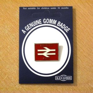 British Rail Red Arrow Badge