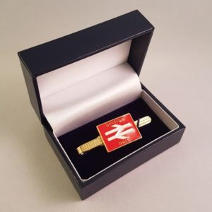 British Rail Red Tie Slide