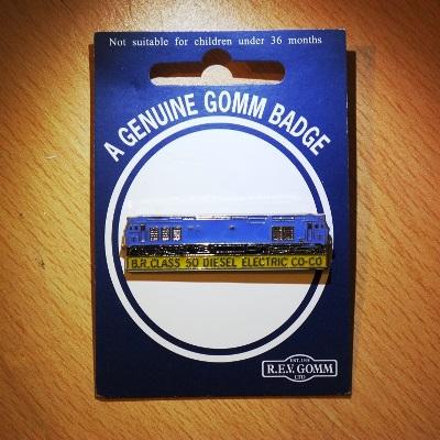 Class 50 Badge